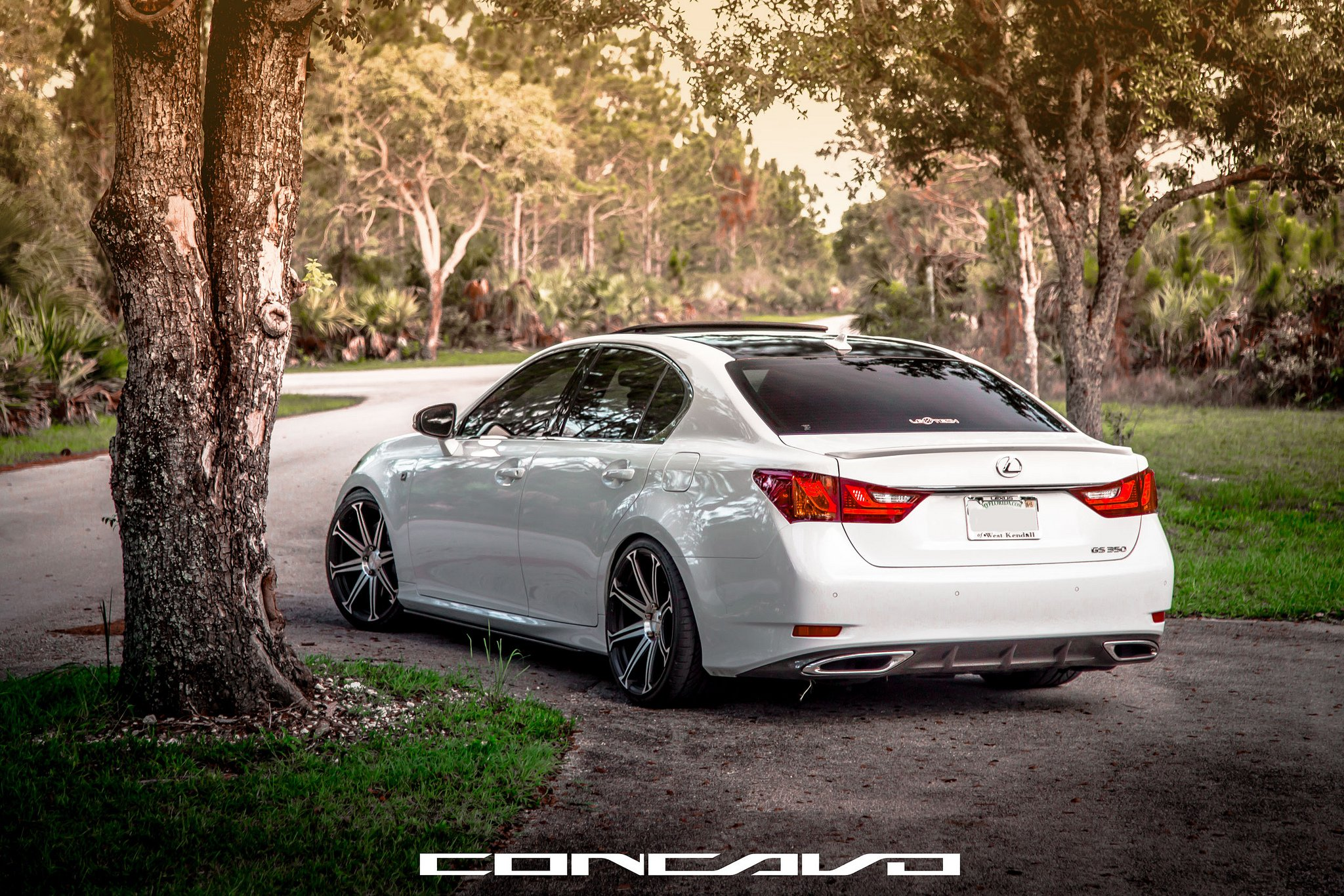 Lexus GS350 F-Sport Tuning concavo wheels cars wallpaper ...