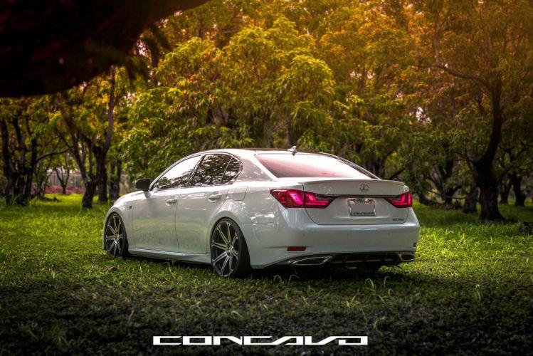 Lexus GS350 F-Sport Tuning concavo wheels cars wallpaper
