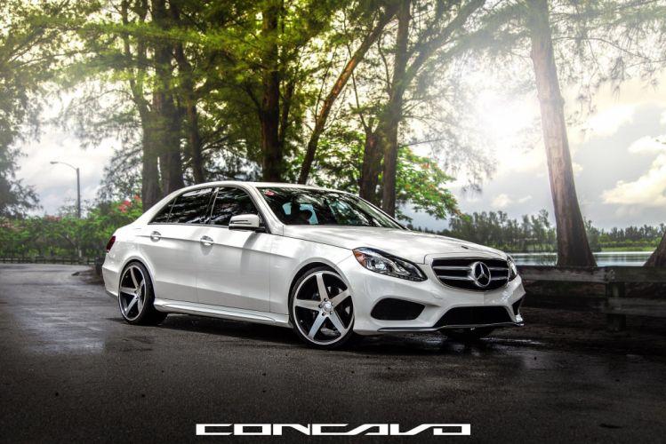 Mercedes Benz E350 Tuning concavo wheels cars wallpaper