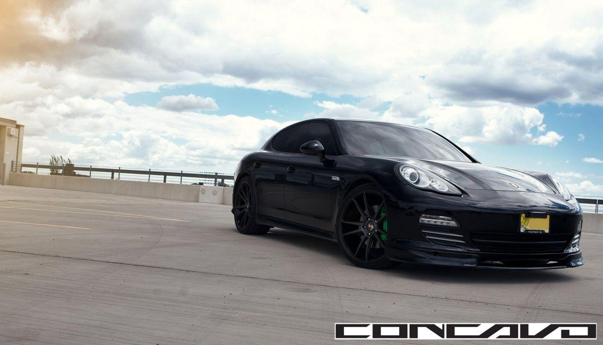 Porsche Panamera Tuning concavo wheels cars wallpaper
