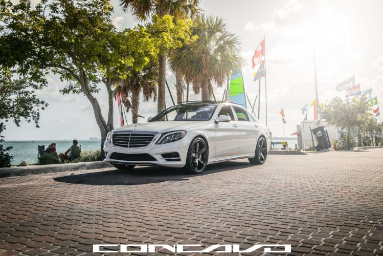 Mercedes Benz S550 Tuning concavo wheels cars wallpaper