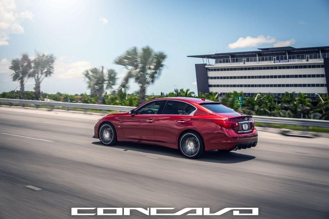 Infiniti Q50 Tuning concavo wheels cars wallpaper