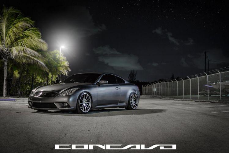 Infiniti G37 Tuning concavo wheels cars wallpaper