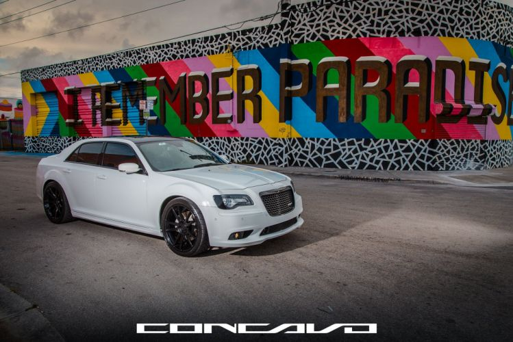 Chrysler 300 SRT8 Tuning concavo wheels cars wallpaper