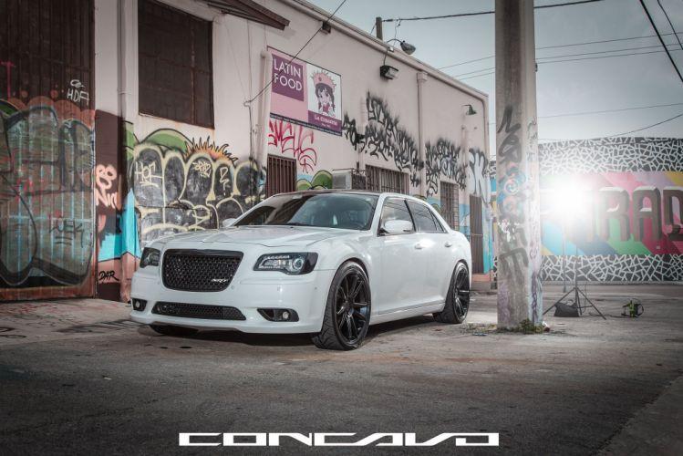 Chrysler 300 SRT8 Tuning concavo wheels cars wallpaper