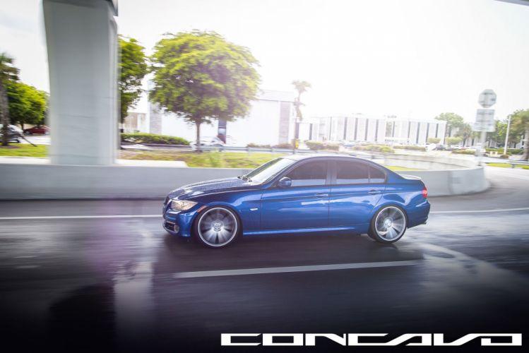 BMW 3 series Sedan Tuning concavo wheels cars wallpaper