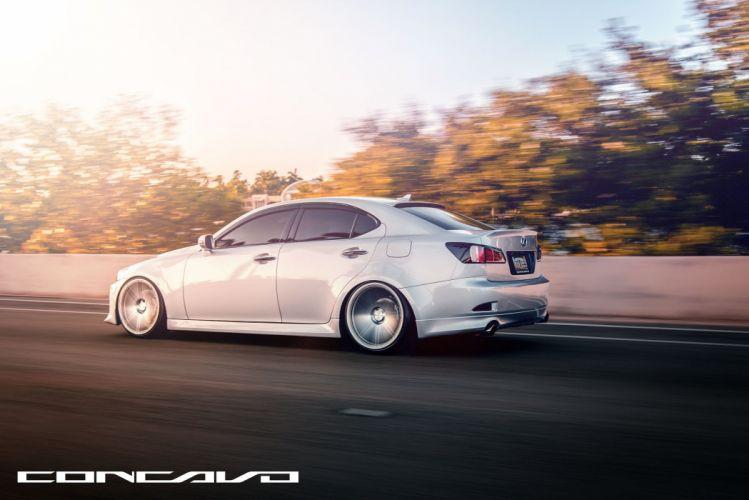 Lexus IS250 Tuning concavo wheels cars wallpaper