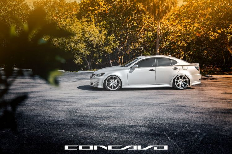 Lexus IS250 Tuning concavo wheels cars wallpaper