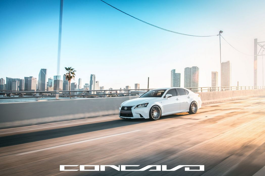 Lexus GS350 F-Sport Tuning concavo wheels cars wallpaper