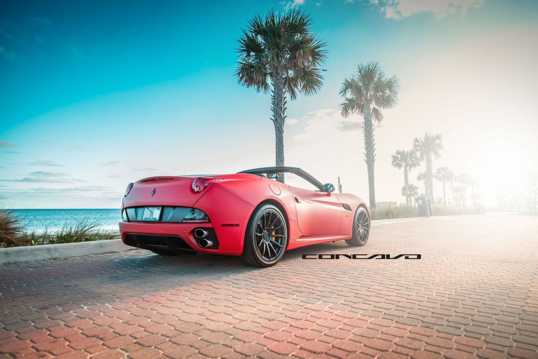 Ferrari California Tuning concavo wheels cars wallpaper