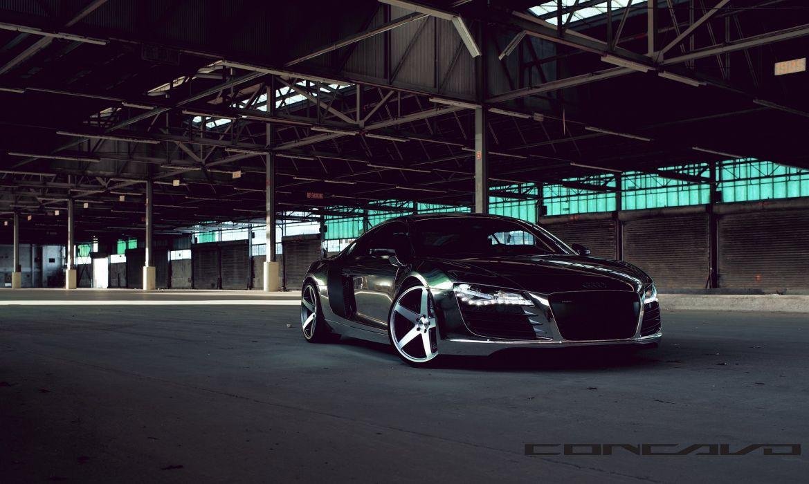 Audi R8 Tuning concavo wheels cars wallpaper