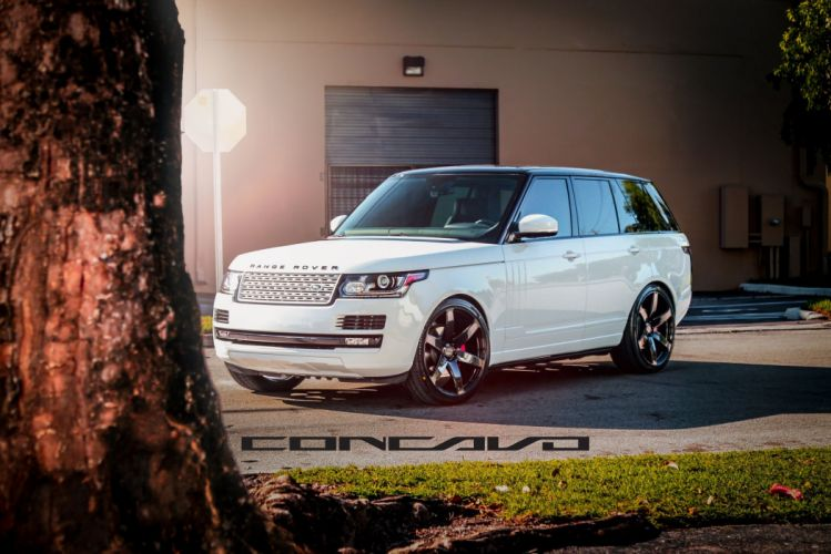 Range Rover Tuning concavo wheels cars wallpaper