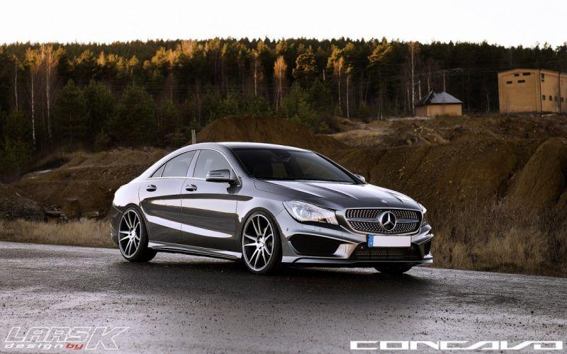 Mercedes Benz CLA Tuning concavo wheels cars wallpaper