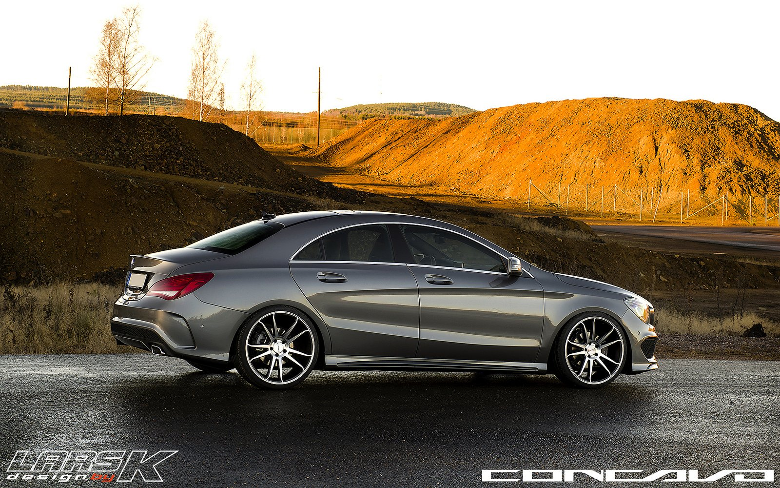 mercedes benz cla tuning concavo wheels cars wallpaper. Black Bedroom Furniture Sets. Home Design Ideas