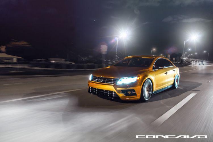 Volkswagen CC Tuning concavo wheels cars wallpaper