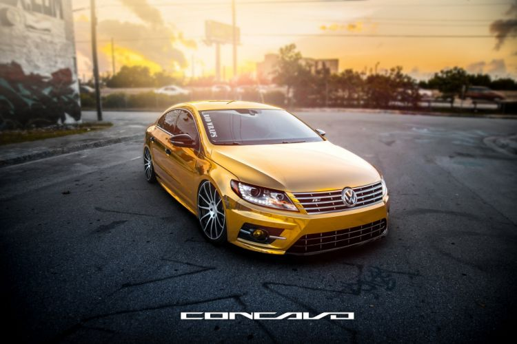 Volkswagen CC Tuning concavo wheels cars wallpaper