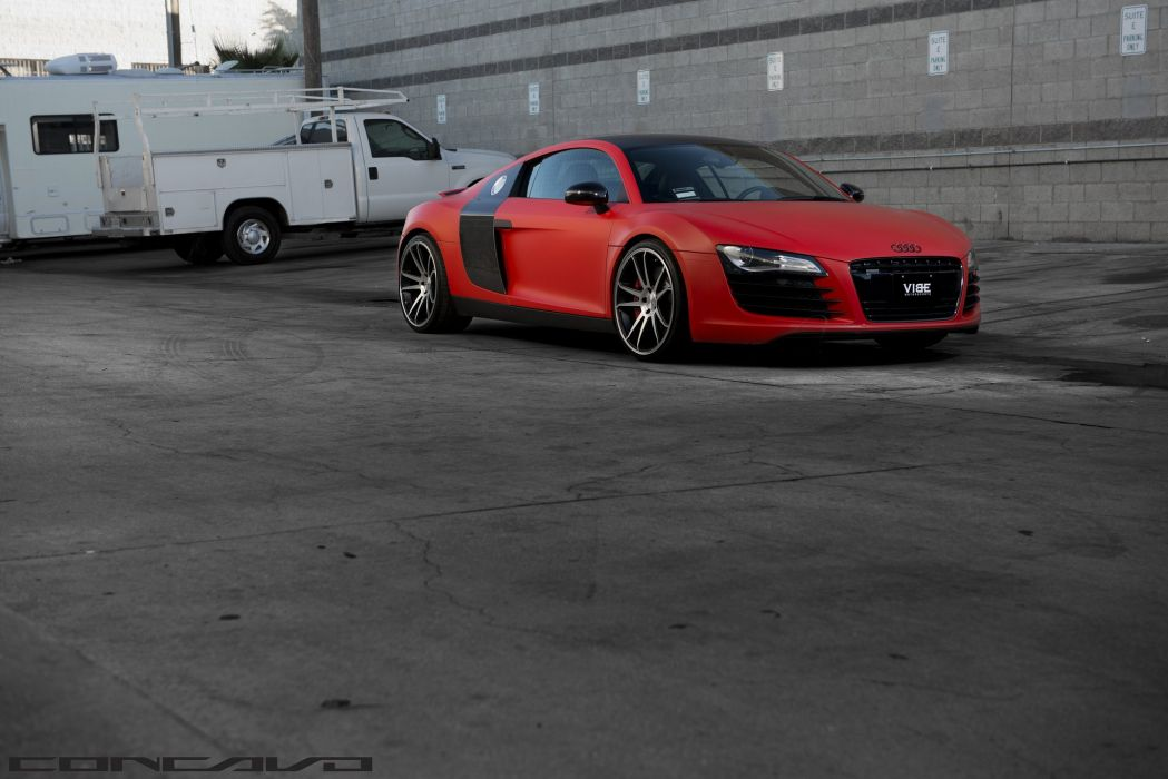 Audi R8 Tuning concavo wheels cars wallpaper