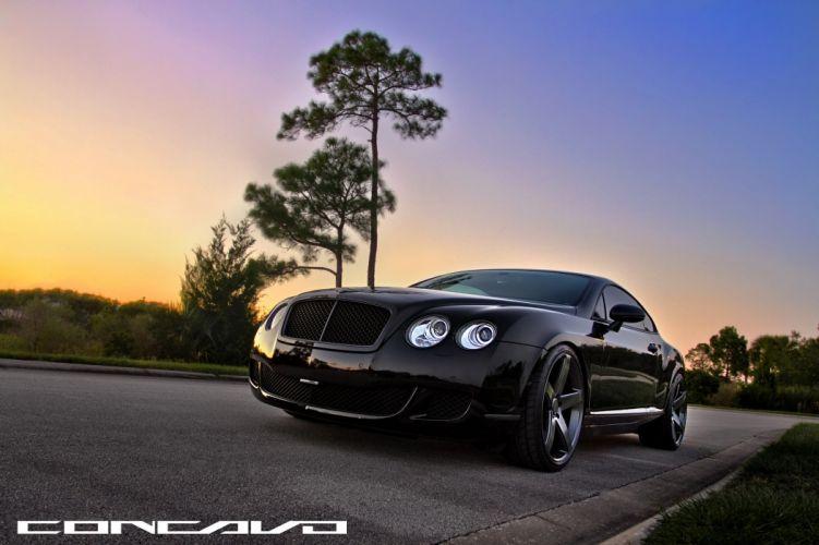 Bentley Continental GT Tuning concavo wheels cars wallpaper