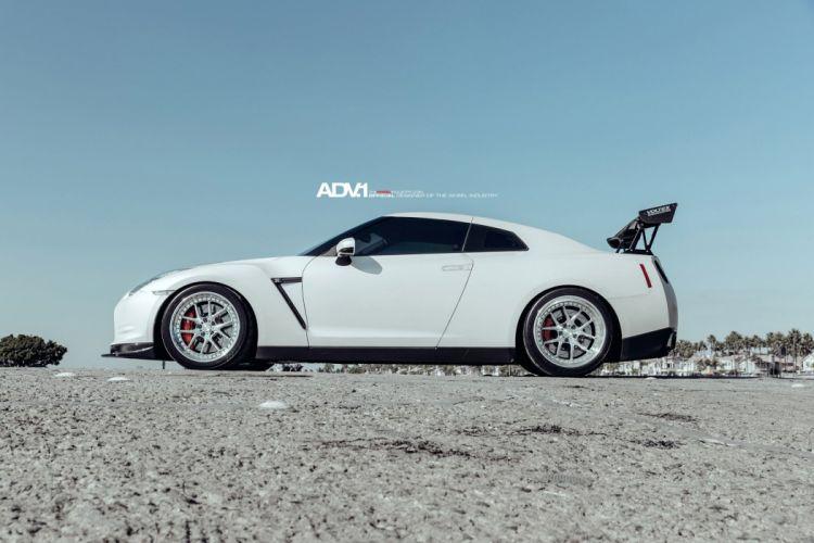 nissan gtr adv1 wheels tuning cars wallpaper