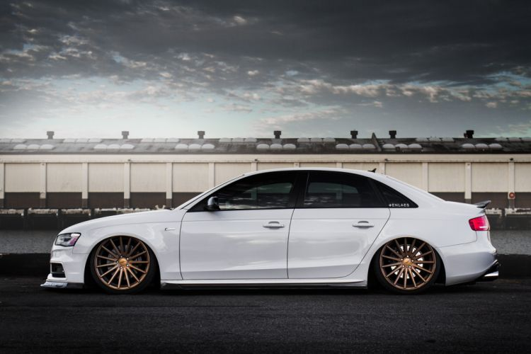 Audi s4 vossen wheels tuning cars wallpaper