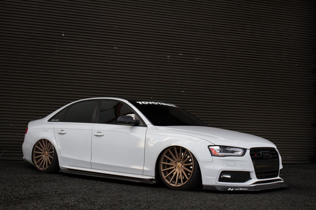 Audi s4 vossen wheels tuning cars wallpaper