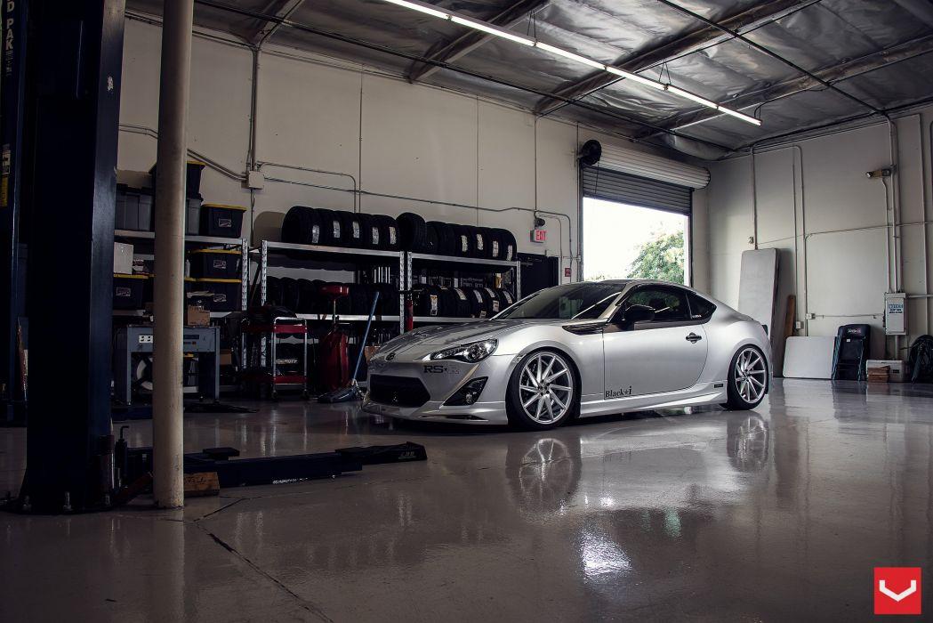 Scion FRS vossen wheels tuning cars wallpaper