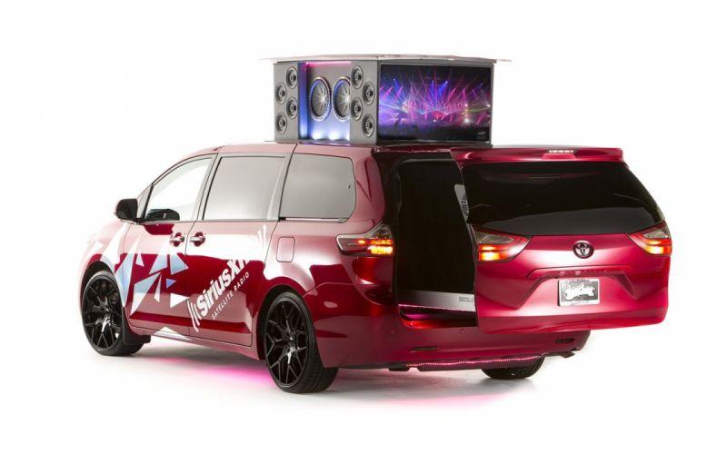 2015 Toyota Sienna remix cars tuning sema 2014 wallpaper
