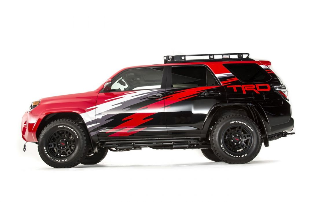 2015 Toyota; TRD; 4Runner remix suv cars tuning sema 2014 wallpaper