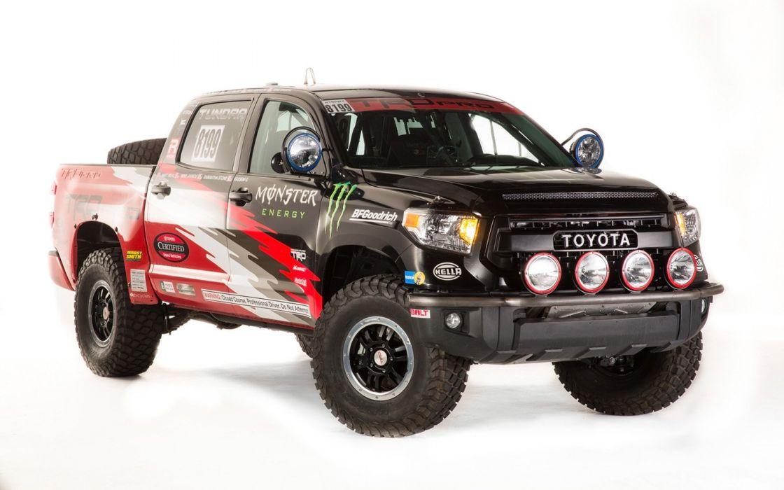 2015 Toyota TRD Tundra Pro Desert Race Truck suv cars tuning sema 2014 wallpaper