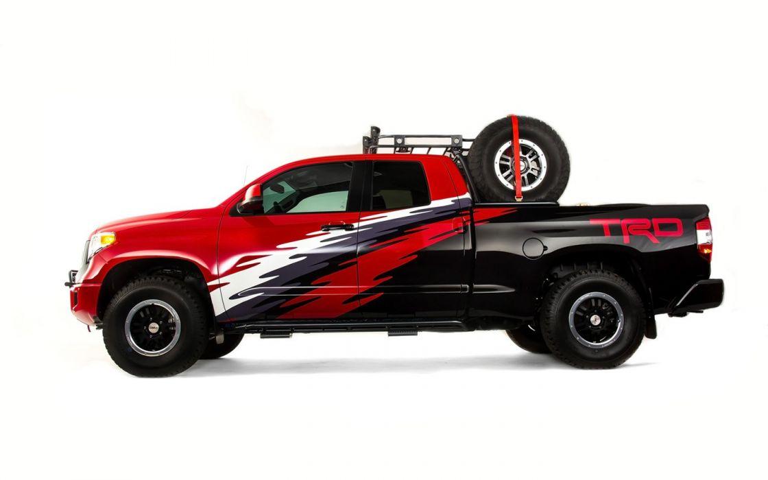2015 Toyota TRD Tundra Truck suv cars tuning sema 2014 wallpaper