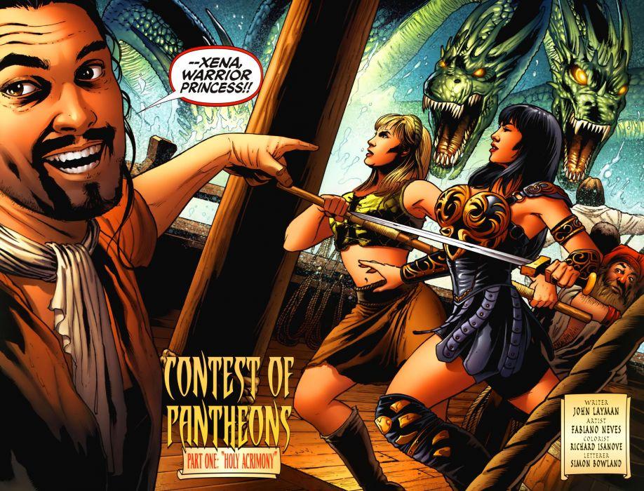 XENA WARRIOR PRINCESS fantasy action adventure comedy wallpaper