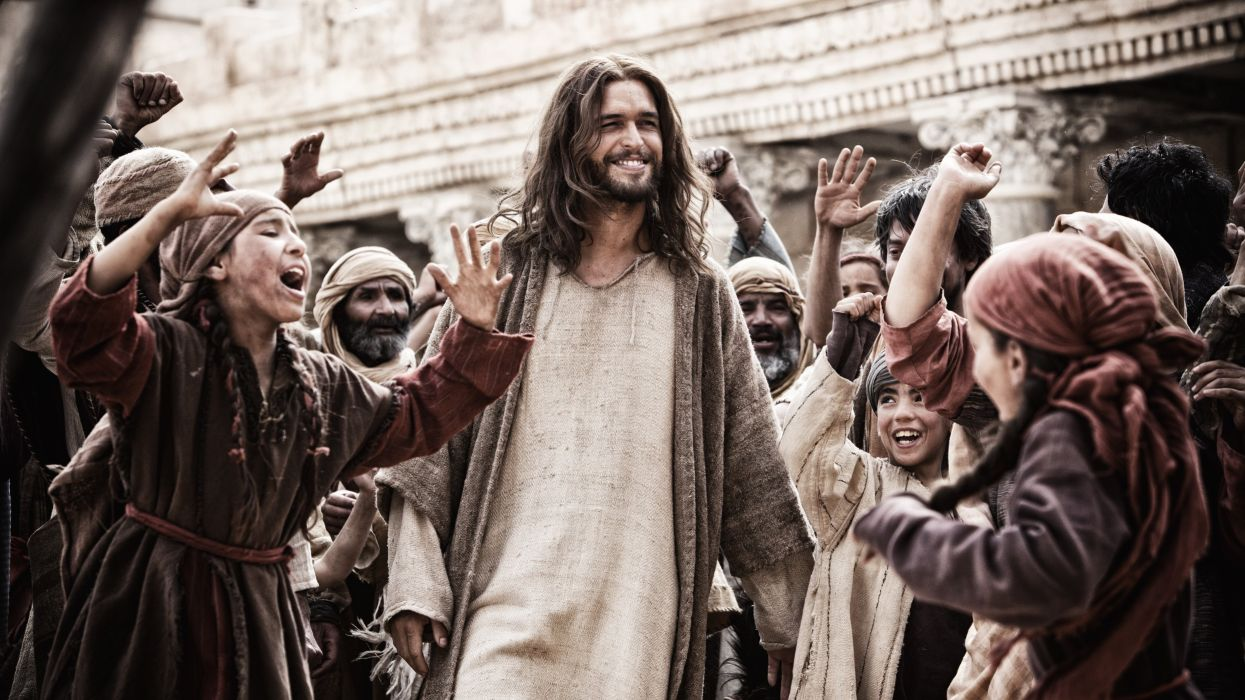 The Bible Series Religion Jesus Christ Christian Drama Wallpaper 4256x2394 503453 Wallpaperup
