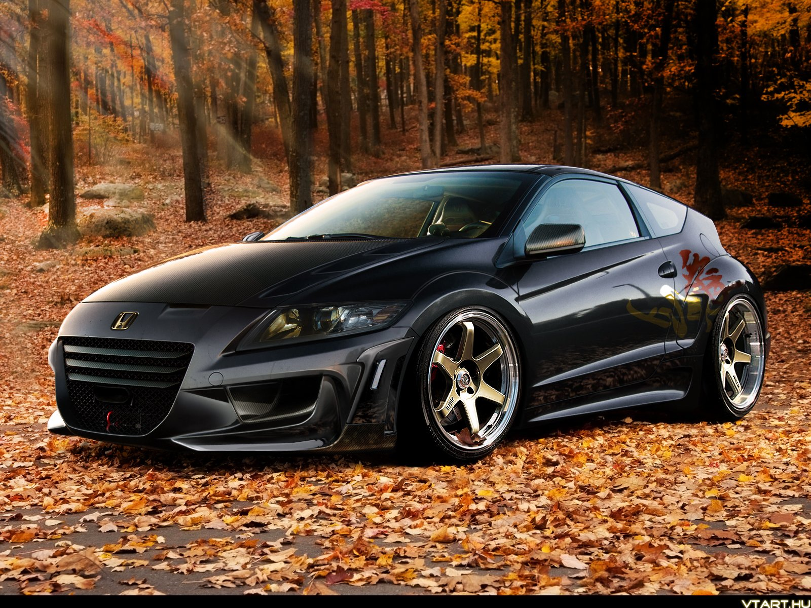 honda cr z coupe cars tuning japan wallpaper 1600x1200. Black Bedroom Furniture Sets. Home Design Ideas