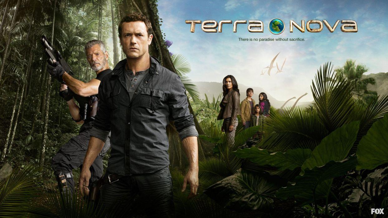 TERRA NOVA series adventure mystery sci-fi drama wallpaper