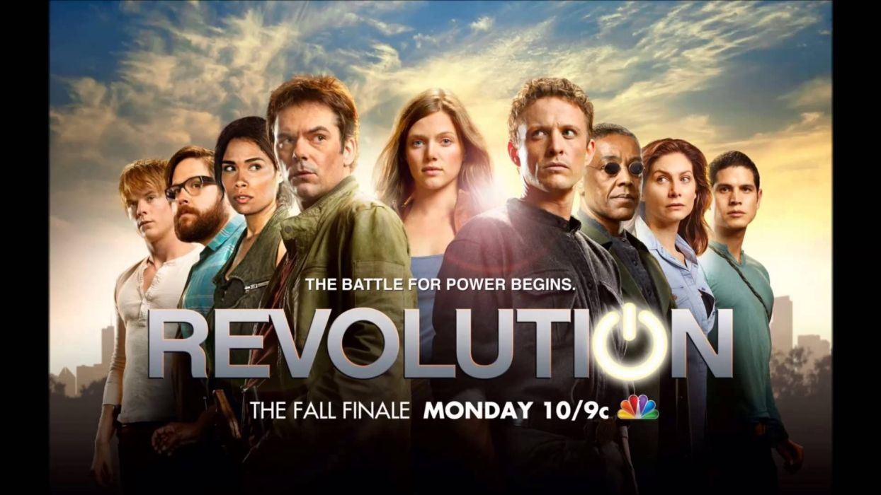 REVOLUTION series action adventure drama sci-fi wallpaper