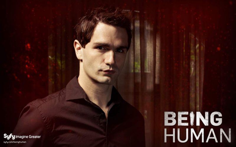 BEING HUMAN drama fantasy horror vampire supernatural series wallpaper