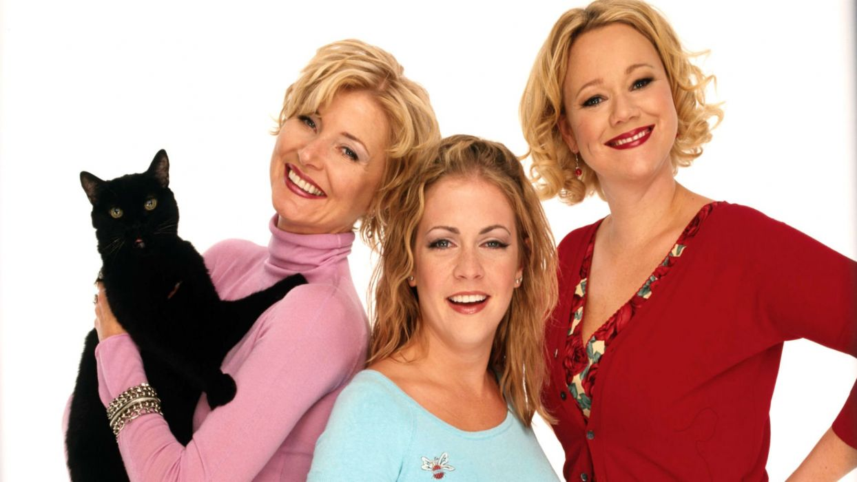 SABRINA TEENAGE WITCH series comedy family fantasy sitcom wallpaper