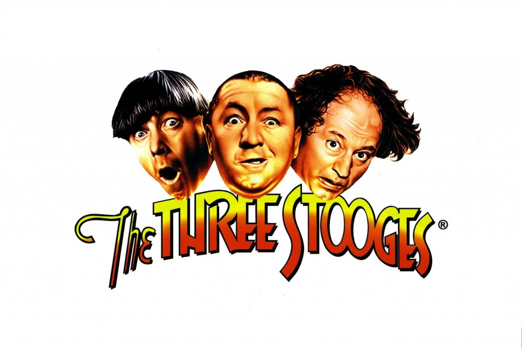 Three Stooges Comedy Series Vaudeville Vintage Wallpaper