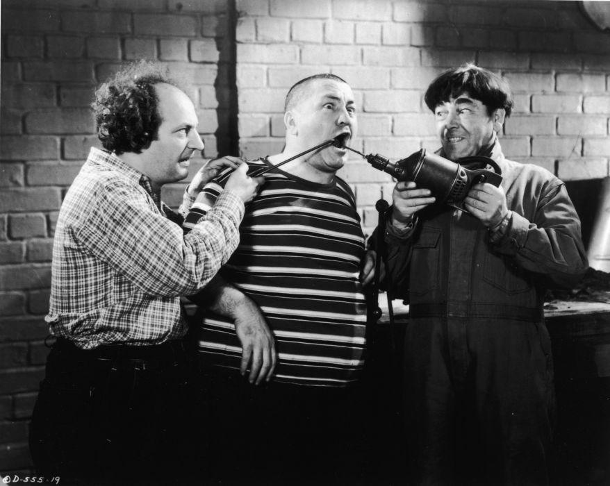 three stooges comedy series vaudeville vintage wallpaper 3994x3184