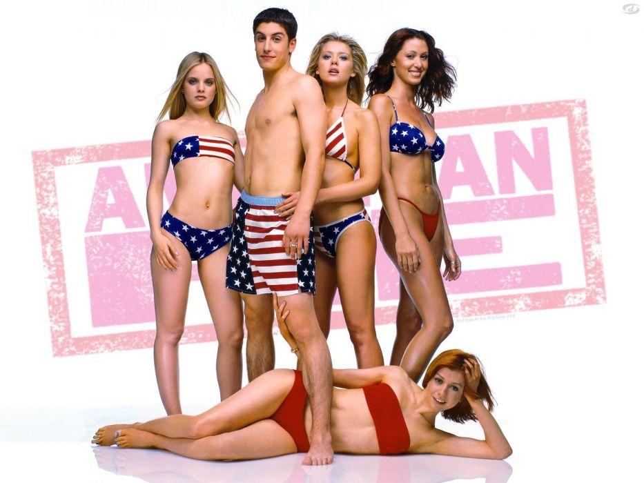AMERICAN PIE comedy romance sex sexy babe bikina wallpaper