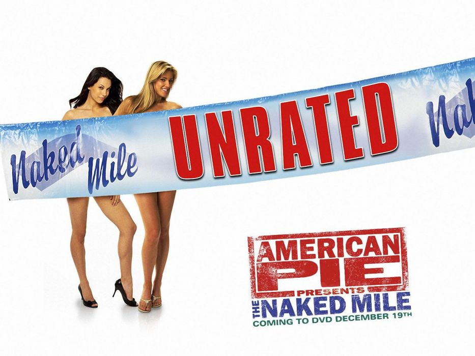 American pie naked mile poster