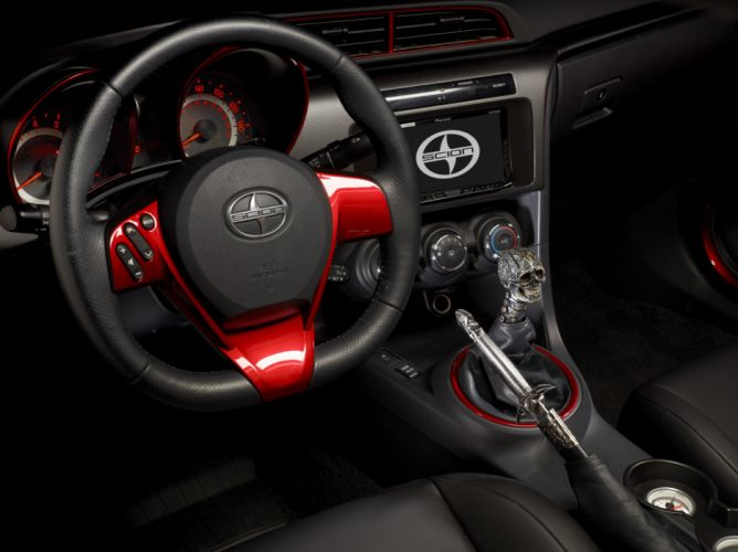 2014 Scion x Slayer Mobile Amp t-C tuning concept thrash heavy metal wallpaper