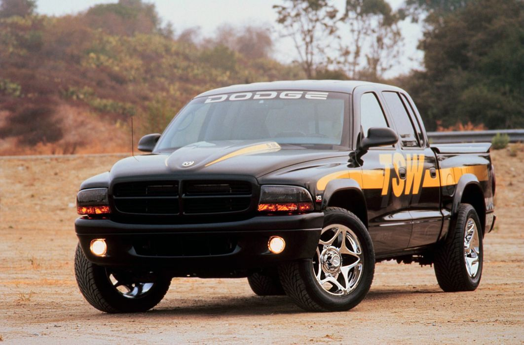 2000 Dodge Dakota Quad Cab TSW Concept pickup muscle wallpaper