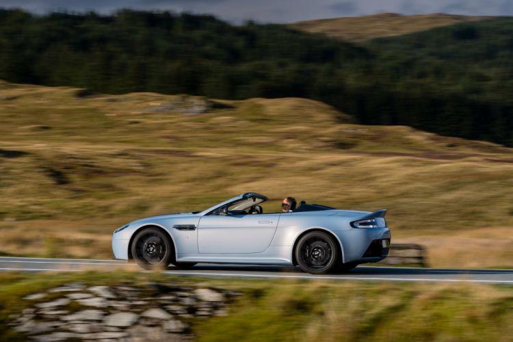 2015 Aston Martin V12 Vantage S Roadster UK-spec vantage-s wallpaper