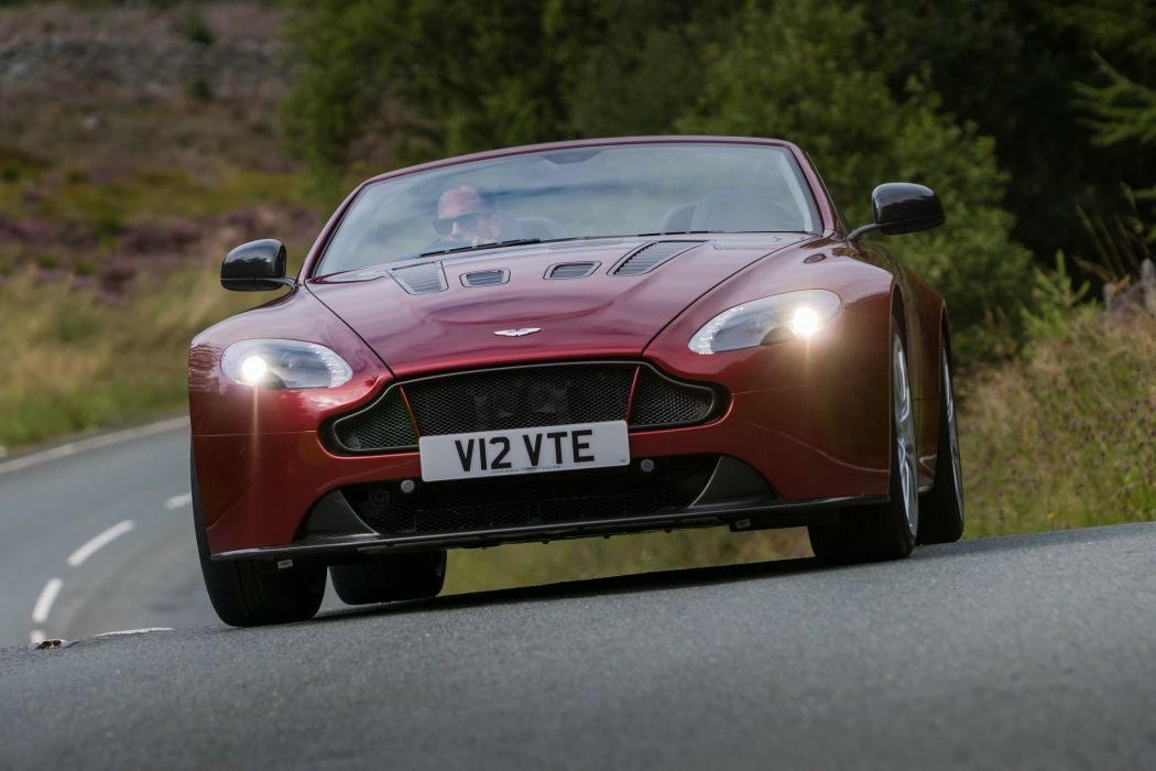 2015 Aston Martin V12 Vantage S Roadster UK-spec vantage-s wallpaper
