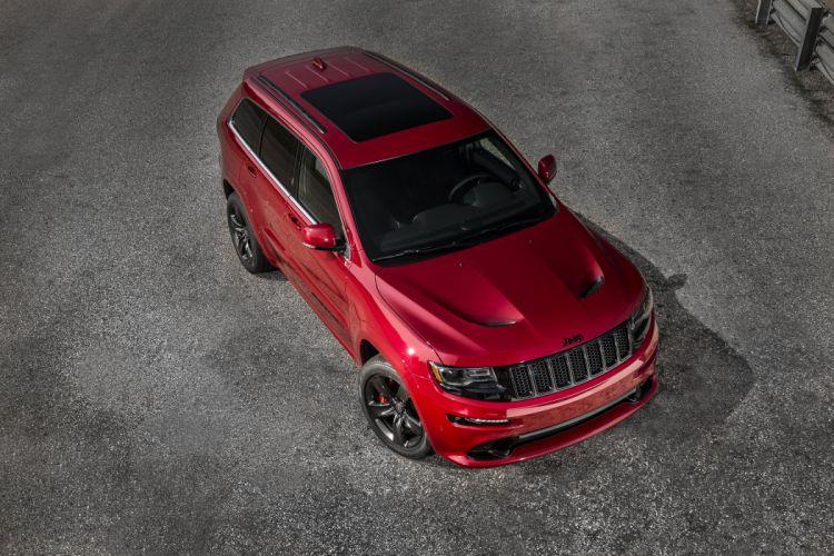 2015 Jeep Grand Cherokee SRT Red-Vapor (WK2) muscle suv wallpaper