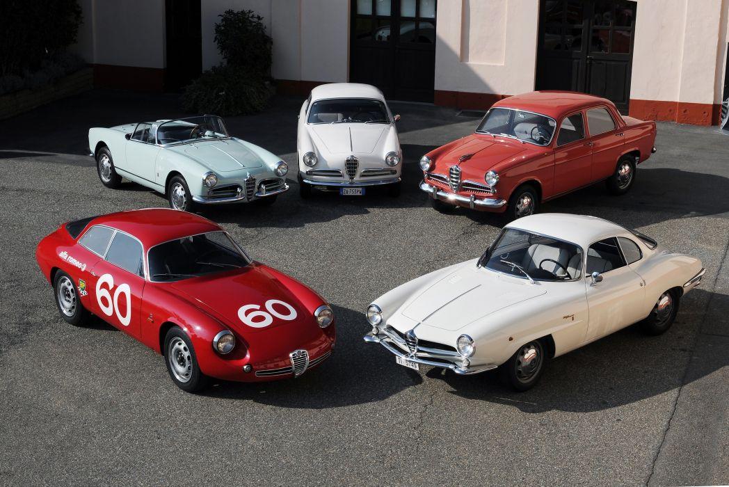 1954-61 Alfa Romeo Giulietta 750-101 race racing wallpaper