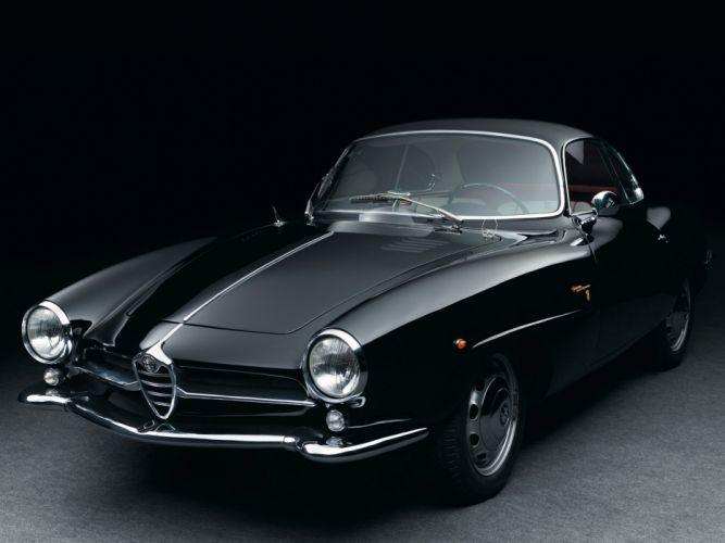 1960-62 Alfa Romeo Giulietta Sprint Speciale (101) classic wallpaper