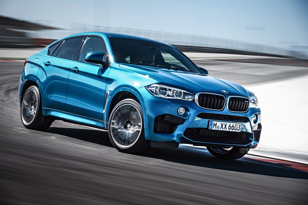 2015 BMW X-6 M (F16) suv wallpaper
