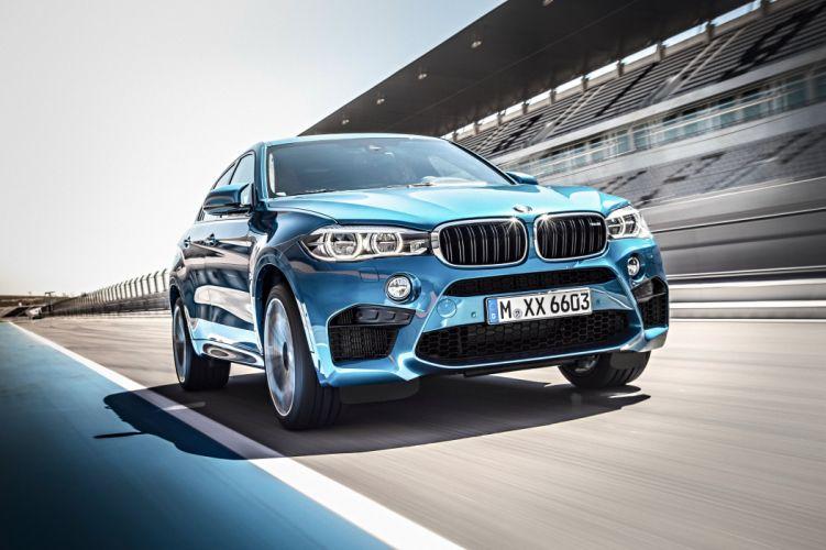 2015 BMW X-6 M (F16) suv wallpaper